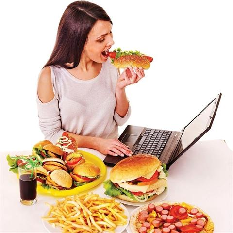 unhealthy eating habits